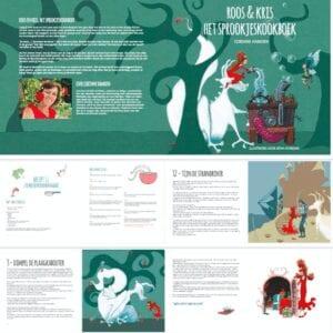 Roos & Kris, het sprookjeskookboek
